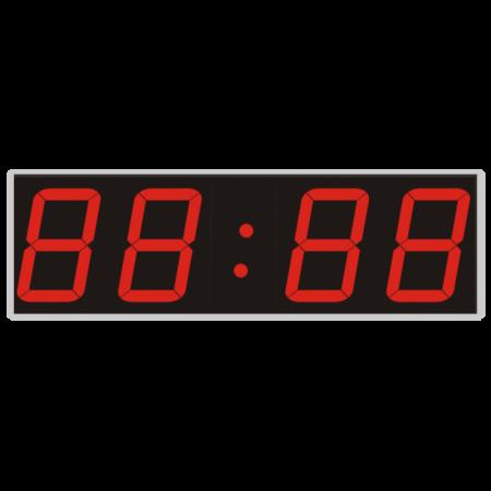 Офисные светодиодные часы У-500П