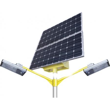 Автономный светильник 20+20 Вт. SGM-300/300 на солнечной батарее.