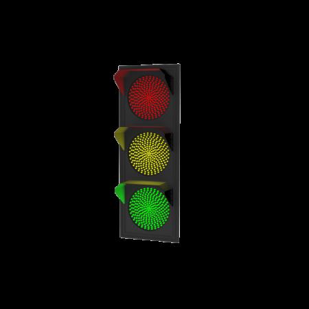 Светофор транспортный светодиодный 200мм Т.1.1 дорожный