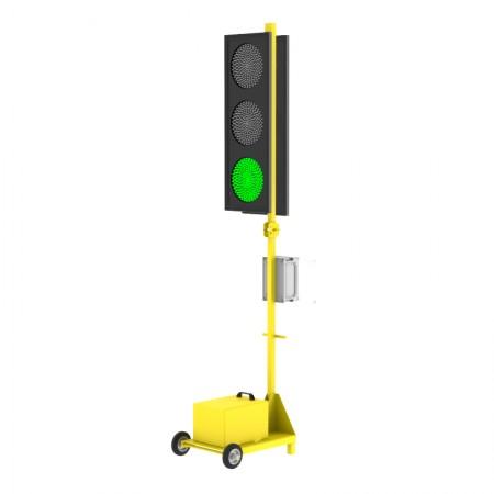 Мобильный светофор двухсторонний Т.1.1 200мм. без акб