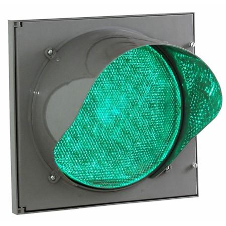 Светофор светодиодный Т.12.2 300мм с зеленым излучателем