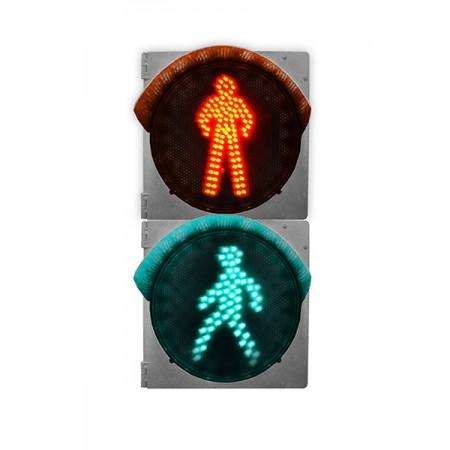 Светофор 300 мм. пешеходный П.1.2 светодиодный дорожный