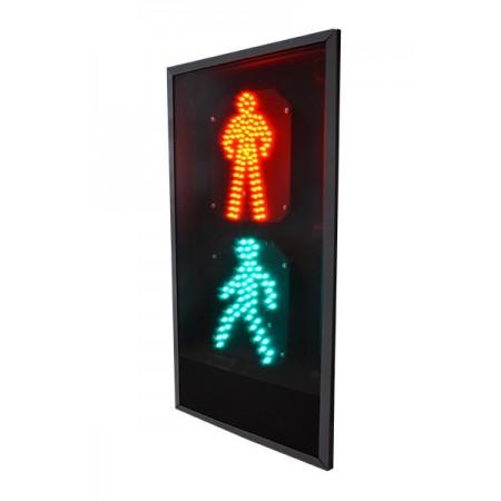 Светофор 300 мм. пешеходный П.1.2 плоский