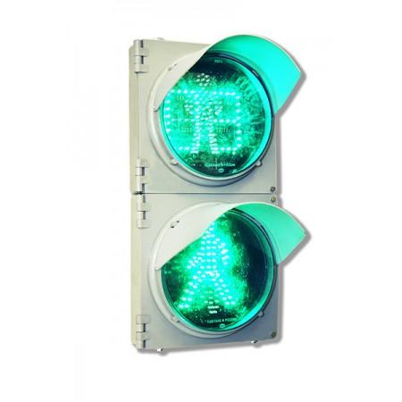 Светофор 200 мм. пешеходный c ТООВ П.1.1 (С ТВАЗ) светодиодный дорожный