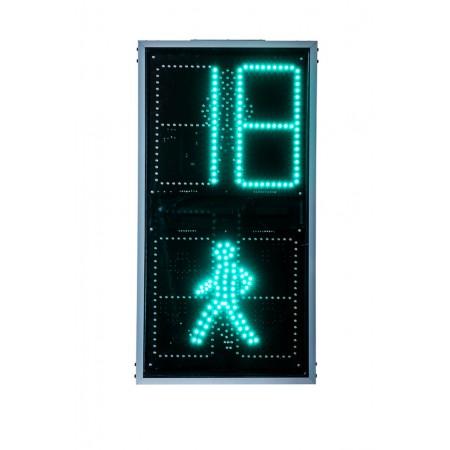 Светофор дорожный 300 мм. светодиодный, пешеходный С ТООВ (П.1.2 С ТВАЗ)