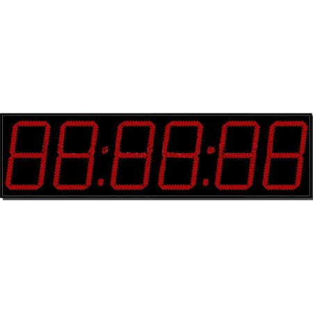 Часы для бассейна 130x6b