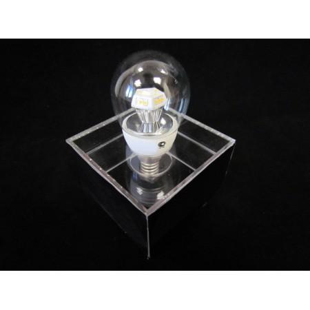 Лампа светодиодная G45SD 4.5W 3200K E27 clear (аналог лампы накаливания шар прозрачный 45 Вт)
