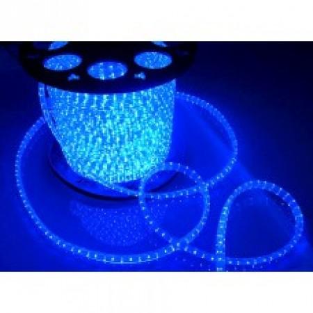 Дюралайт круглый LED 2W 100M 13 MM 220V синий купить