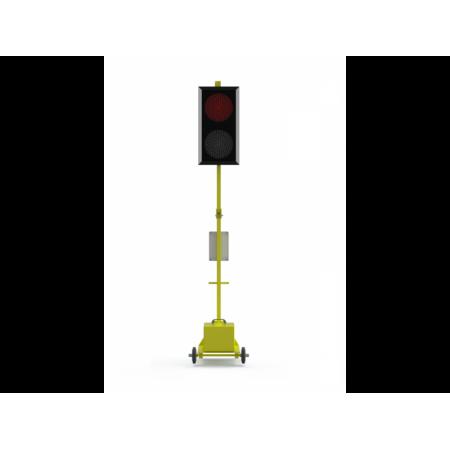 Передвижной дорожный светофор