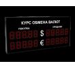 Электронное табло курса обмена валют